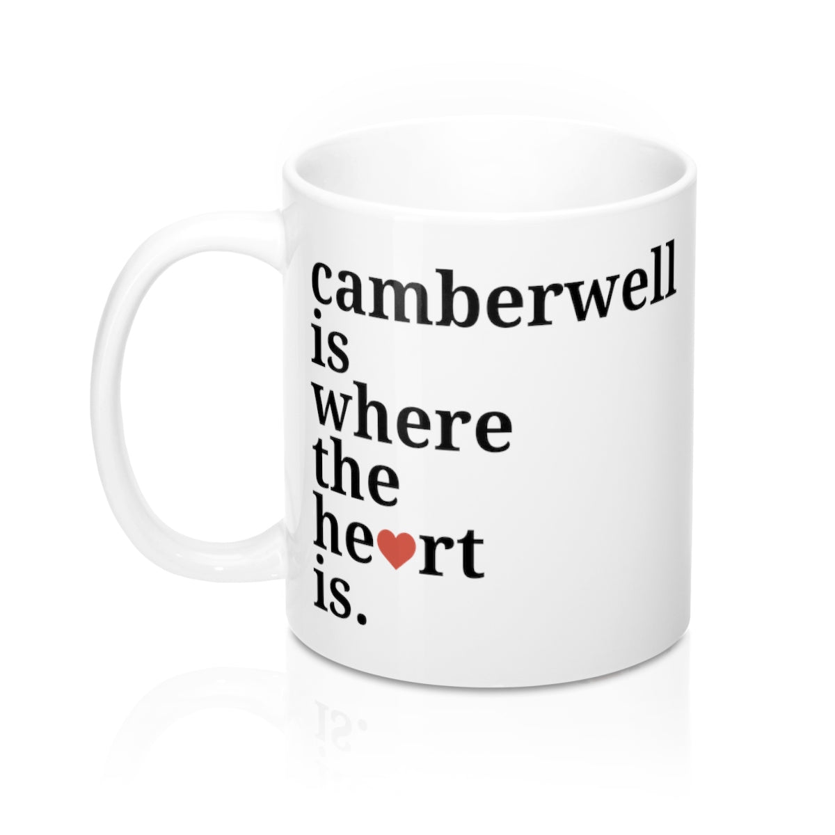 Camberwell Is Where The Heart Is Mug