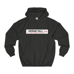 Herne Hill Road Sign SE24 Hoodie