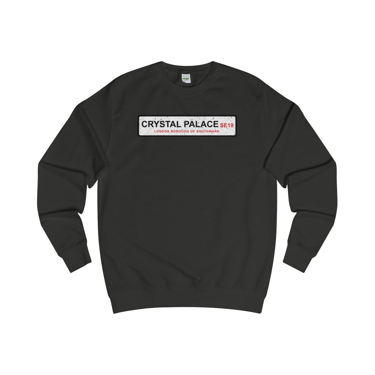 Crystal Palace Road Sign SE19 Sweater