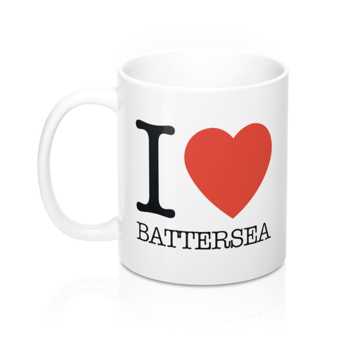 I Heart Batterea Mug