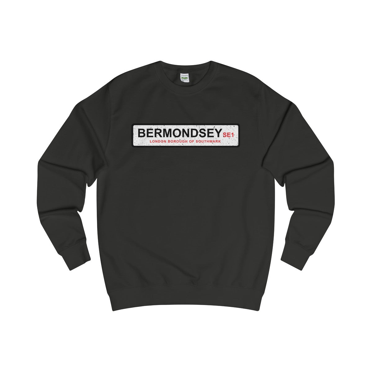 Bermondsey Road Sign SE1 Sweater