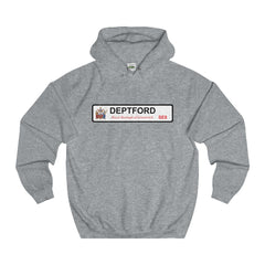 Deptford Road Sign SE8 Hoodie