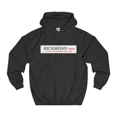 Richmond Road Sign TW10 Hoodie