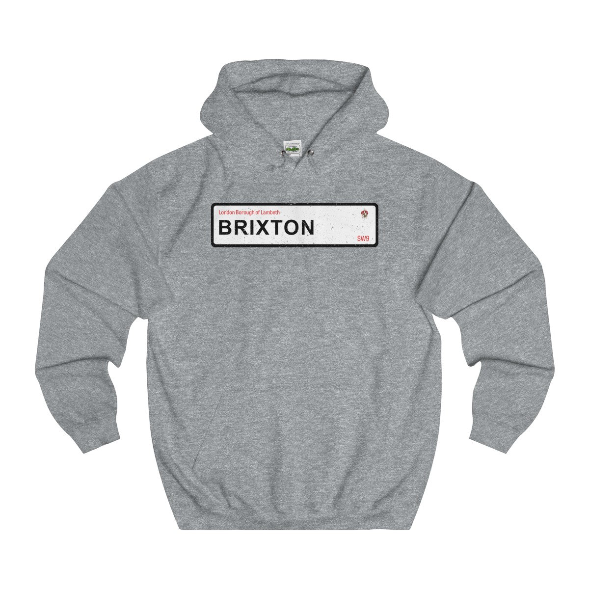 Brixton Road Sign SW9 Hoodie