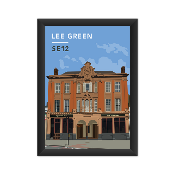 Lee Green/Old Tigers Head SE12 - Giclée Art Print