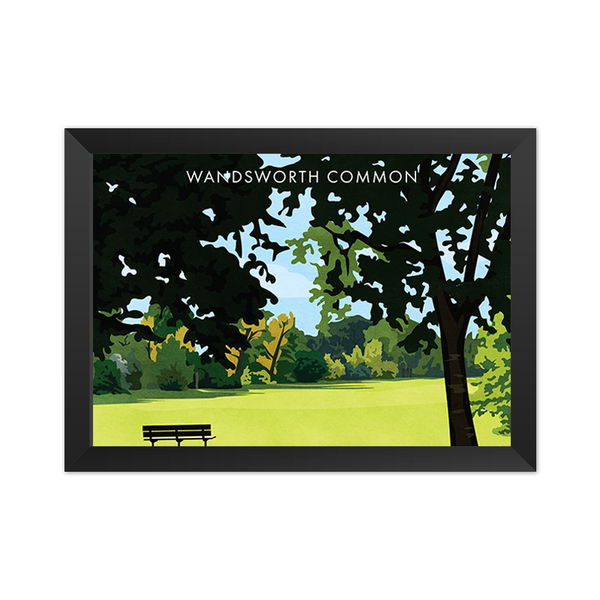 Wandsworth Common SW18 - Giclée Art Print