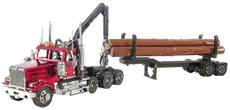 WESTERN STAR® 4900 LOG TRUCK & TRAILER