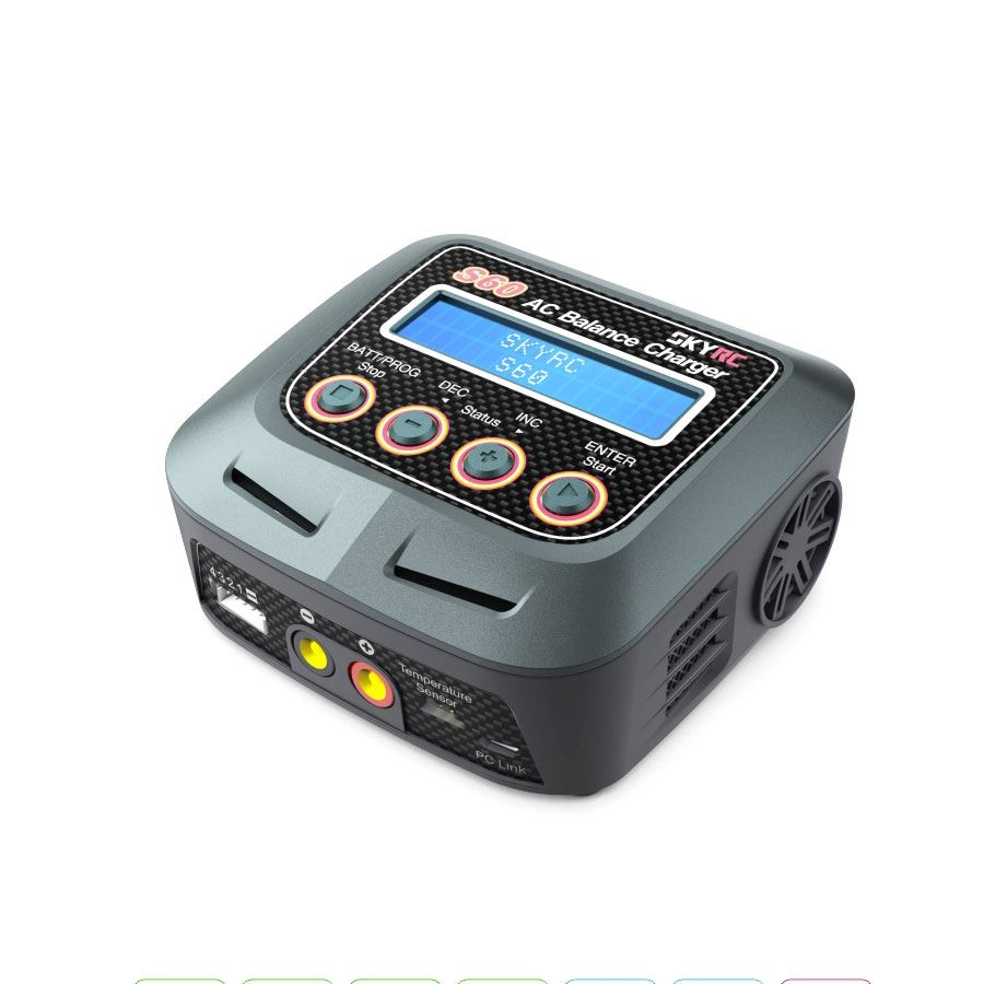S60 60W AC Balance Battery Charger Discharger