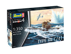 1/350 GERMAN TYPE VII C/41 U-BOAT