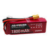 7.4v 1800mah 30c soft pack