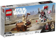 LEGO Star Wars T-16 Skyhopper vs Bantha