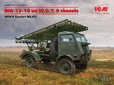 1/35 BM-13-16 on W.O.T. 8 chassis, WWII Soviet MLRS