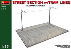 1/35 STREET SECTION w/TRAM LINES