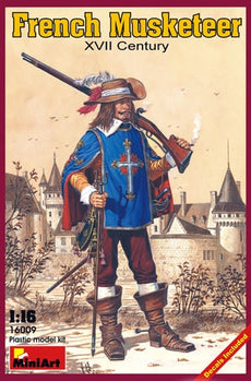 1/16 FRENCH MUSKETTER XVII CENTURY