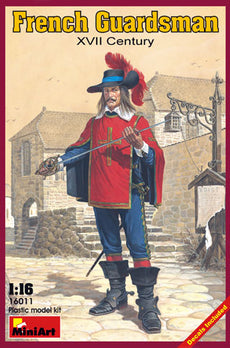 1/16 FRENCH GUARDSMAN XVII CENTURY