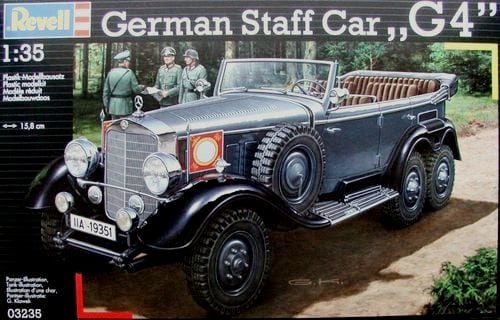 1/35 GERMAN STAFF CAR 'G4' MERCEDES