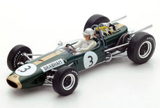 1/18 BRABHAM BT19 #3 WORLD CHAMPION 1966 JACK BRABHAM