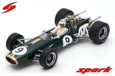 1/18 BRABHAM BT20 #9 WINNER MONACO GP 1967 DENIS HULME.