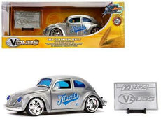 1/24 1959 Volkswagen Beetle *20th anniversary series*, chrome/blue