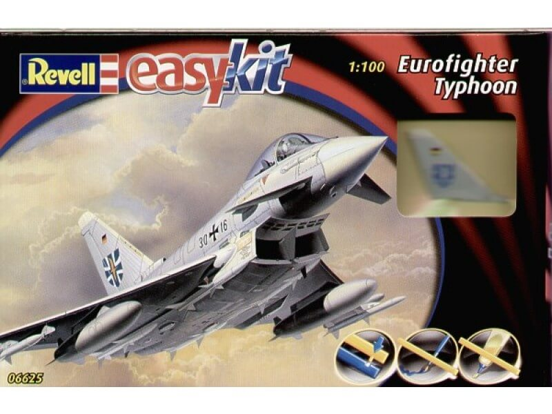 1/100 EUROFIGHTER TYPHOON EASY KIT