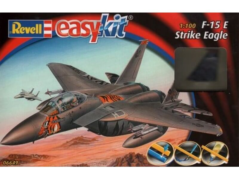 1/100 F-15E STRIKE EAGLE EASY KIT