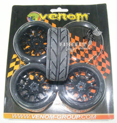 Venom Tyres with mags (no thread)