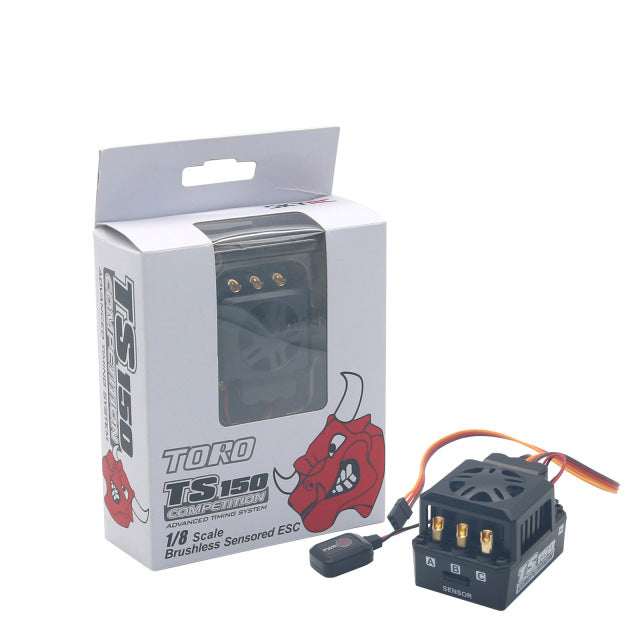 TS150 COMPETITION BRUSHLESS SENSORED ESC 1/8