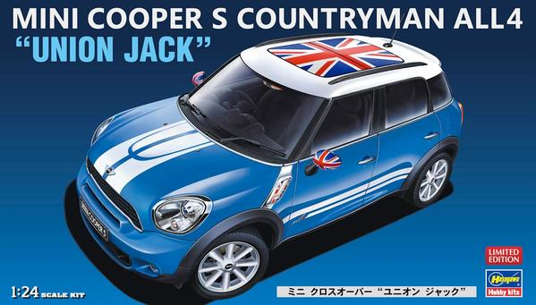 124 Mini Cooper S Countryman All 4 Union Jack Gp Models