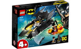 LEGO 4+ DC Batboat The Penguin Pursuit!