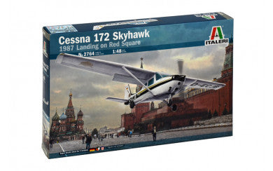 1/48 Cessna 172 Skyhawk 1987 Landing on Red Square - Super Decal Sheet Included