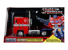 1/24 Transformers Optimus Prime Heroc Autobot in Nice Transformers Packaging.