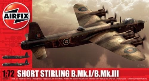 1/72 SHORT STIRLING B.MK.I/B.MK.II