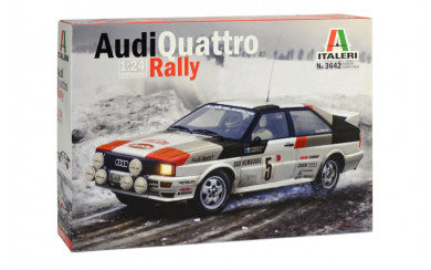 Copy of 1/24 Audi Quattro Rally - Super Decal Sheet Included