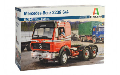 1/24 Mercedes-Benz 2238 6x4 - Super Decal Sheet Included