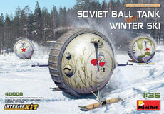 1/35 Soviet Ball Tank with Winter Ski