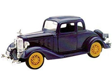 1/32 1933 CHEVY TWO PASSENGER 5 WINDOW COUPE BLUE