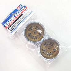 Tamiya 50549 2-Piece Wide Mesh Wheels - (1pr)