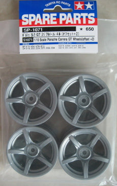 Tamiya Porsche Carrera GT Wheels (Offset +2) #51071