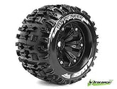 "Louise 3.8"" All Terrain Tires Mounted for Jato, Nitro, Stampede(2Pcs)"