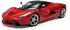 1/18 LaFerrari, Red Hot Wheels BLY52 -Diecast Model Car