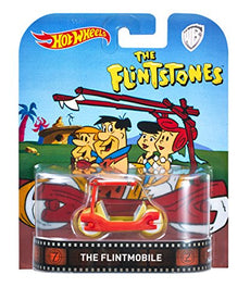 1/64 Hot Wheels Die Cast Metal Flintstones Flintmobile