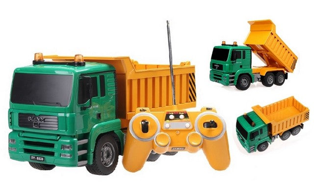 1/20 MAN TGS Tipper Truck (Yellow)