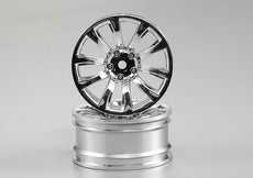 Wheel Fit for 1/10 RC Touring Car Material: ABS