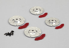 Caliper Brake Disc (CNC Aluminum) 2 Bigger & 2