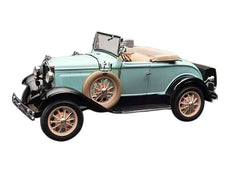 1/18 1931 Ford Model A Roadster Powder Blue Diecast Model Car by SunStar