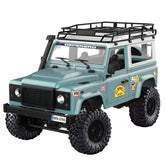 MN-90 1/12 2.4G 4WD Truck - Off-Road Army Car, Radio Control