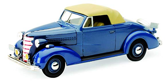 1/32 1938 CHEVROLET MASTER CONVERTIBLE CABRIOLET BLUE