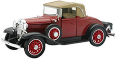 1/32 1931 CHEVY SPORT CABRIOLET RED