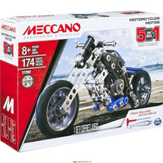 Meccano 5-in-1 Set Motorcycles