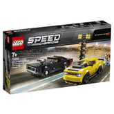 LEGO® Speed Champions 2018 Dodge Challenger SRT Demon and 1970 Dodge Charger R/T